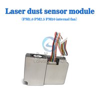 Wholesale Laser dust sensor module PM1 PM2 PM10 Can be connected to the computer built in fan