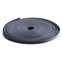 Wholesale 10Meter pce D Printer Accessory Open timing belt Hot sale width mm GT2 belt delivery by DHL is very cheap