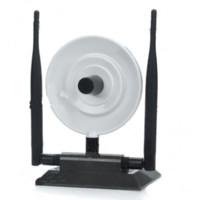 achat en gros de usb antennes à gain élevé wifi-LIVRAISON GRATUITE Black Diamond USB wifi adaptateur 360000N Ralink 3070 WEP WPA 3800mW 36dBi 150Mbps 3 High Gain Antenna