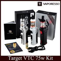 Wholesale Vaporesso target VTC w Starter Kit Complete Target Tank and arget VTC W Box Mod CCELL Ceramic Coil vs IJUST2 istick pico