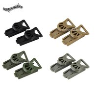 Wholesale Outdoor Gear Airsoft Paintball Shooting Tactical Airsoft Fast Helmet Accessory OPS CORE Swivel Clips mm Rotating Clamp