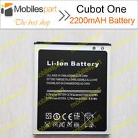 atterie Batterie per cellulari Cubot Una batteria al 100% originale 2200mAh agli ioni di litio di sostituzione di back-up batterie Cubot One Smartphone ...