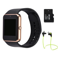 Wholesale 45 Smart Watch GT08 Clock With Sim Card Slot Push Message Bluetooth Connectivity for apple Android Phone PK gv18 DZ09 u8 Smartwatch