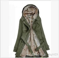 Wholesale 2016 Fashion Winter Women Warm Coats Long Cold Proof Outerwear Women Thick Dust Coat Casual Overcoats