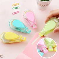 Wholesale Three year two class South Korea stationery lovely water shape correction tape Macarons tape correction tape