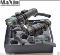 Wholesale Tactical Adjustable Green Dot Laser Sight with Long Control Handle and mm Mount Ring M Lasers