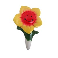 Wholesale Small Cute Handcraft Ceramics Plant Watering Globes Sunflower watering for plants Small Handcraft Glass Plant Watering Globes