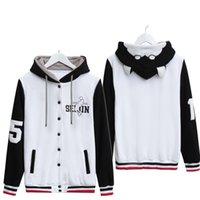 basket jacket - Kuroko no Basket Kuroko Tetsuya Cosplay Hoodie Anime Kuroko s Basketball Hooded Baseball Coat Jacket Casual Unisex Sport