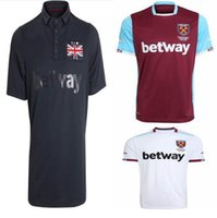 Wholesale 16 Soccer Jersey West Ham United Football Clothes Hammers Jerseys CARROLL PAYET ZARATE KOUYATE Home Red Maillot de foot Sakho