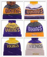 basketball minnesota - New Arrival Minnesota Beanies Winter High Quality Beanie For Men Vikings beanie American Football Women Skull Caps Skullies Knit Cotton Hats