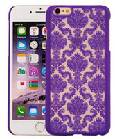 artistic covers - For iPhone S S Plus plus Case Hollow Out Dream Catcher Colorful Carving Artistic Palace Hard Plastic Cover Case DHL SCA127