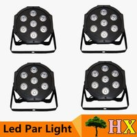 Wholesale Hot x W RGB DMX Stage Lights Business Lights Led Flat Par High Power Light with Professional for Party Disco DJ EU US