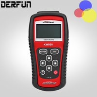 Wholesale Hot Sale OBD2 KW808 Car Diagnostic Code Reader CAN Engine Reset Tool KONNWEI Auto code Scanner Coverage