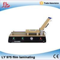 Wholesale LY Build in pump Semi Auto Vacuum OCA film laminator for below inch screens