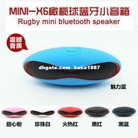 Wholesale X6u small football wireless Bluetooth portable speaker mini portable outdoor stereo subwoofer manufacturers selling