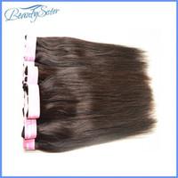 productos para el cabello rosa al por mayor del pelo virginal brasileño rectas 40bundles 2kg gran cantidad no procesada armadura natual negro grado de color marrón 7a cabello humano