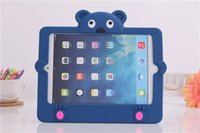 Wholesale Kids Light Weight anti Shock Handle EVA Case for iPad mini silica gel pleasing to the eye