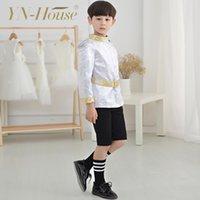 Wholesale New Arrival High Quality Little Prince Knight Party Boy Suit Unique School Uniform