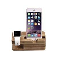 bamboo model - Apple Watch Stand Yayan Charging Dock Bamboo Wood Charging Stand Bracket Cradle for Apple Watch iPhone Fits iPhone Models S