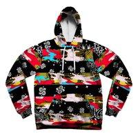 hoodies wholesale - 2016 fashion design All over printing sublimation hoodies custom sweatshirt