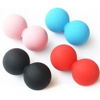 Wholesale Gym Roller Spiky Massage Ball Fitness Trigger Point Myofascial Release Workout Ralex Yoga Peanum Massage Ball Therapeutics Tools