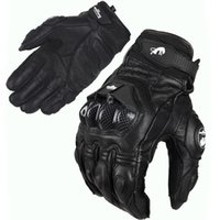 Wholesale Hot Sale France s top Furygan AFS6 gloves Motorcycle Off road Cycling Racing Bicycle Sports Leather Armed Gloves All Black Or Black white