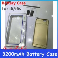 External Battery case - New Arrival Portable mAh External Battery Case Backup Charger Battery for iPhone6 Power Bank Case Pack Case for apple iPhone In Stock
