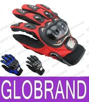 Wholesale NEW Outdoor Sports full finger knight riding motorbike Motorcycle Gloves D Breathable Mesh Fabric men Leather Locomotive Glove GLO486