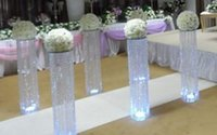 Wholesale Artificial Silk Flower Rose Balls Wedding walkway stand Centerpiece for Party Christmas wedding decor