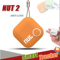 Wholesale Nut Smart Tracker Wireless Bluetooth finder Tag GPS Key Finder Alarm Sensor Anti Lost Bag Wallet Locator for Android iOS