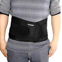 Wholesale Waist Supporter Brace Protection Ajustable Elastic Waist Support Belt Double Strap Lumbar Waist Back Belt