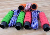 adult jump ropes - Soft Foam Handle Jump Rope Skipping Rope Adult Gym Fitness Jump Ropes Outdoor Children Sports Exercise Equipment m LJJP137