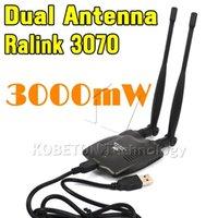 Wholesale USB Wireless BT N9100 Beini free internet High Power mW Dual OMNI Antenna Wifi Decoder Ralink