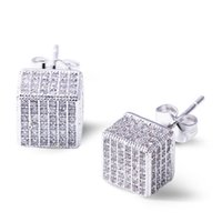 Wholesale 2016 Limited Special Offer Brinco Earings Luxury Stud Earrings Aaa Cubic Zirconia Small Earring Free Allergy Lead Free Jewelry