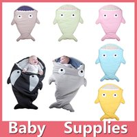 baby fish costumes - Kids Baby Shark Sleeping Bag Mermaid Tail Shark Sleep Sacks Fleece Blankets Wrap Costumes Bed Fish Snuggle in Shark Baby Blankets