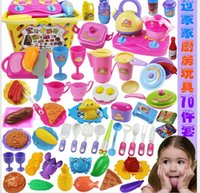 Wholesale Simulation toy kitchen cooking fruits and vegetables honestly see children play house kitchen set hot sale