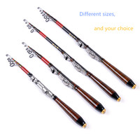 Wholesale 2016 Raft fishing rod m m m m carbon lightweight surperhard easy to carry fishing tackle