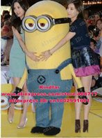 Wholesale Despicable Me Minions Animal Mascot Costume Adult Size Halloween Party Fancy Outfit No