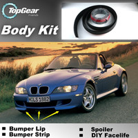 Wholesale Bumper Lip Lips For BMW Z3 E36 E36 Front Skirt Deflector Spoiler For Car Tuning The Stig Recommend Body Kit Strip