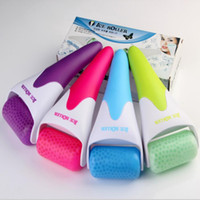abs massager - Ice Roller New ABS Skin Massager for Face Body Massager Skin Preventing Wrinkles Skin Cool Derma Tools