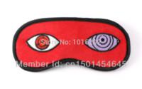 Wholesale Sleep Eye Mask For Naruto Uchiha Obito s Eyes Anime Sleep Masks Sleeping Eye Mask Cosplay