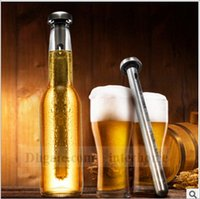 beer stick - Beerchiller Stick Stainless Steel Wine Liquor Chiller Cooling Ice Stick Rod In Bottle Pourer Beer Chiller Stick Chill Alcohol Wine Cold B107