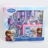 Wholesale DIY Doctor Children Kids Early Educational Pretend Play Classic Toy For Frozen Plastic