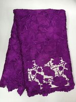 african fabrics online - Z han111316 Hottest Selling High Quality African guipure lace fabric Cotton Water Soluble Lace Fabric Online