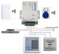 Wholesale home Door Access Control Kit DIY Full Rfid Card With Electric Strike Lock