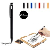 Wholesale High precision mm Active Chargeable Capacitive Touch Pen Stylus for iOS Android Microsoft Tablets PAD touch screen devices