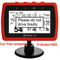 best software for computers - 2016 Best Price for Multi Functional V CHECKER V Checker A501 Car Trip Computer OBD2 Car Tool With