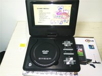 Wholesale Freeshipping New Arrival Cheap inch MINI portable DVD player USB portable DVD size cm