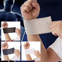 Wholesale New selling Outdoor Sport Injury Bandage Wristbands Elastic Elbow Wrist Support Compression Wrap Wrist Brace Guard