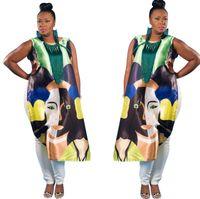 beautiful positions - 2016 New Sexy Beautiful Woman Head Digital Positioning Printing Shirt Before Long After The Short Long Loose Jacket B